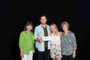 Scotty McCreery Fans Donate $2,100 to CMA Foundation to Support Music Education