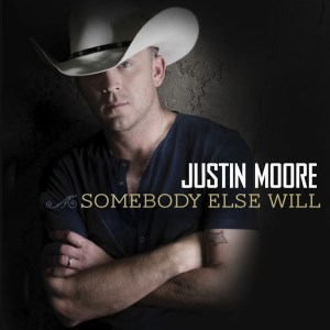 """Justin Moore's """"Somebody Else Will"""" Takes No. 1 Spot"""