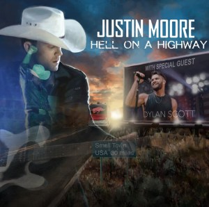 """Justin Moore Announces """"Hell On A Highway Tour"""""""