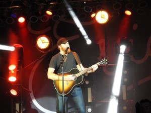 Appalachian Fair first night; Eric Paslay the second act
