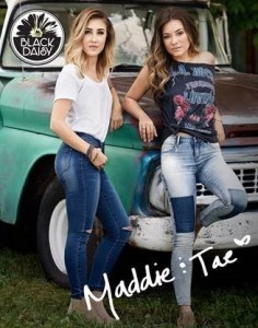 Maddie & Tae Partner with ONE Jeanswear Group to Introduce New Junior's Brand, Black Daisy