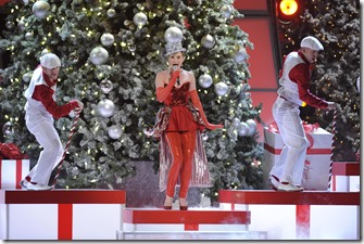 """Jennifer Nettles performs """"All I Want For Christmas"""" at """"CMA Country Christmas,"""" Thursday, Nov. 10, 2011 at the Bridgestone Arena in Downtown Nashville. """"CMA Country Christmas"""" will air on Thursday, Dec. 1 on the ABC Television Network."""
