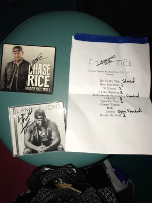 Chase Rice Completes First Uk Ireland Tour With Sold Out