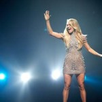 "Carrie Underwood's anthemic event song, ""The Champion,"" released today!"