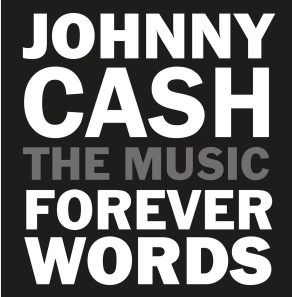 Johnny Cash Forever Words CD Cover Artwork (PRNewsfoto/Legacy Recordings)