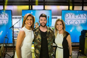 ICYMI:  Dylan Scott makes thrilling national TV debut on NBC's TODAY