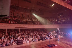 Kelsea Ballerini Unapologetically embrases love during Ryman Auditorium headlining debut