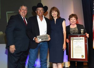 George Strait Accepts Texan of the Year Recognition at Texas Legislative Conference