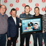 "Scotty McCreery Receives Gold Plaque for ""Five More Minutes"""