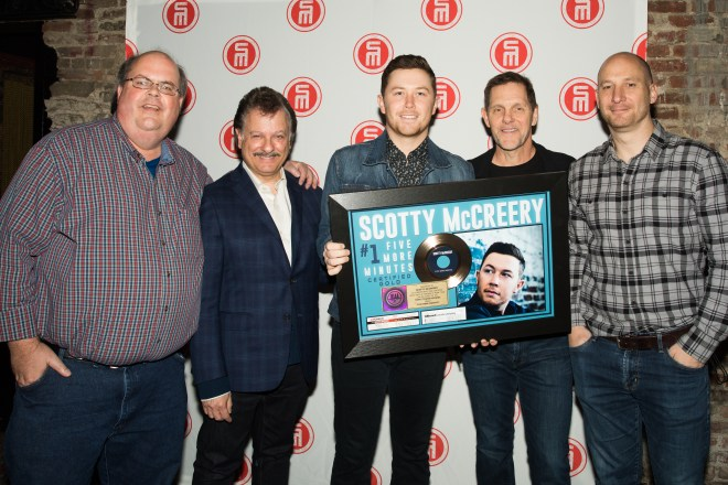 McCreery GOLD & #1 plaque presentation