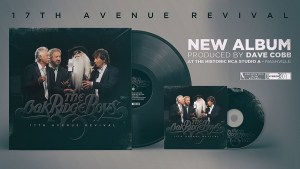 The Oak Ridge Boys new album '17th Avenue Revival' available now!!