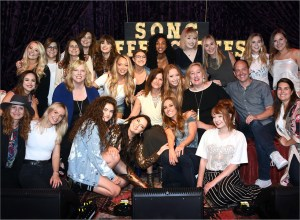 All-female singer-songwriter showcase, Song Suffragettes, play sold out 4th anniversary show, discuss women in music