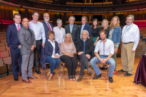 Ricky Skaggs lunches with Country Music Hall of Fame® and Museum staff