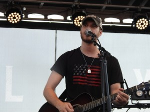 Michael Tyler adds to the fun of Johnson City's Hometown Heroes Celebration