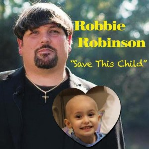 "Robbie Robinson releases new benefit single ""Save This Child"""
