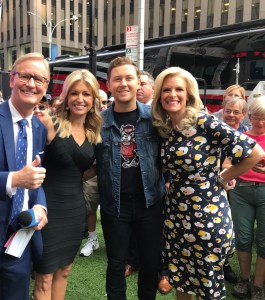 "ICYMI: Scotty McCreery performed on ""Fox and Friends' All American Summer Concert Series"" Friday (8/17)"