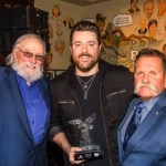 "Chris Young awarded first-ever ""Charlie Daniels Patriot Award"""