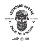 Thompson Square hit the open road for 4th annual Rollin' For A Reason, Oct. 21
