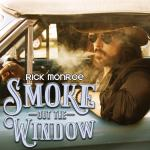 "Rick Monroe Announces New Album ""Smoke Out The Window""  Coming Sept. 21"