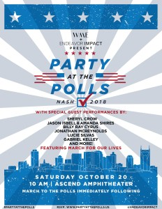 Billy Ray Cyrus Joins Sheryl Crow,Jason Isbell & Amanda Shires and more for Party at the Polls