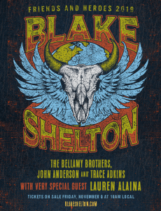 "Bellamy Brothers join Blake Shelton's ""Friends & Heroes 2019"" Tour"