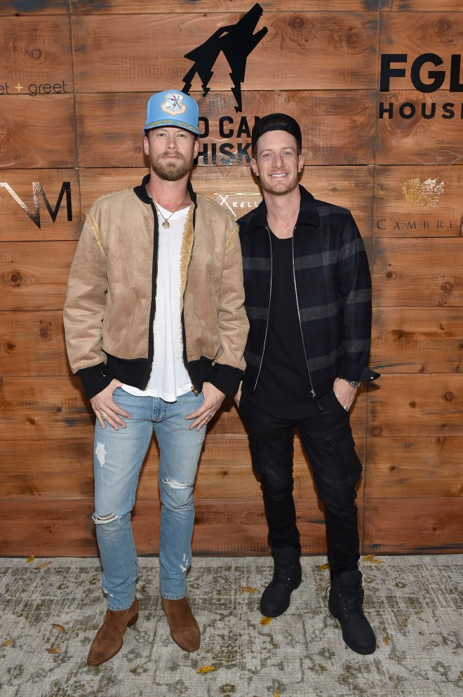 Florida Georgia Line Hosts Grand Opening Of Their Nashville Creative Compound (meet + greet, Tribe Kelley Trading Post, Tree Vibez Music)