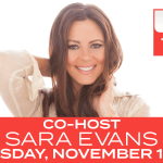 """TUNE IN ALERT: Sara Evans to guest cohost on """"The Talk"""" (CBS, Nov. 13)"""