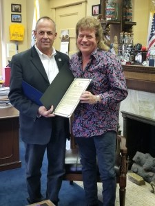 State Of Illinois and City Of Peoria, Illinois honors native Tim Atwood for career in country music