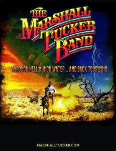 The Marshall Tucker Band announces 'Through Hell & High Water… And Back Tour 2019'
