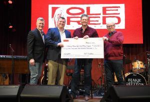 Ole Red Gatlinburg celebrates Grand Opening  with Blake Shelton + Raises over $50,000 for local high school's music programs
