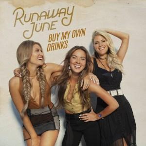 """ACM Nominee Runaway June debut video for Top 25 """"Buy My Own Drinks"""""""