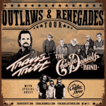 Travis Tritt and The Charlie Daniels Band announce 2019 Outlaws & Renegades Tour with special guest The Cadillac Three