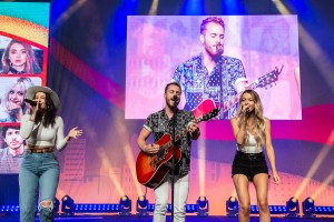 Temecula Road performs live on Radio Disney Country Stage during CMA Music Fest