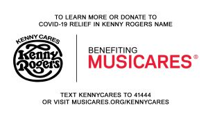Kenny Cares benefiting MusiCares: a Multi-Network Celebration of the Life and Music of Kenny Rogers Begins Sunday, April 5