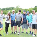 Lewis Brice hits the links for charity during 2020 NFL Alumni Charity Golf Classic