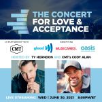 CMT and Ty Herndon Announce Return of Concert for Love & Acceptance on June 30th