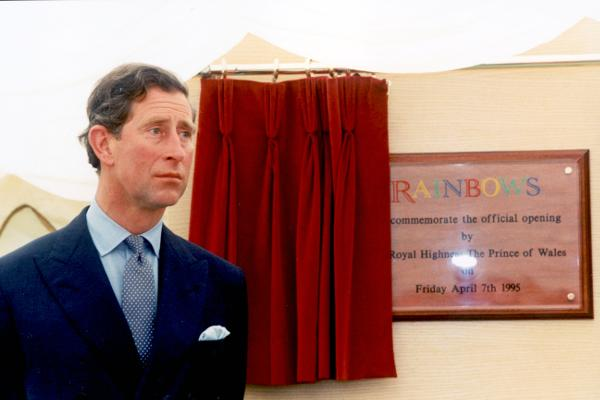 Image result for Rainbows Children's Hospice, in Loughborough. prince of wales