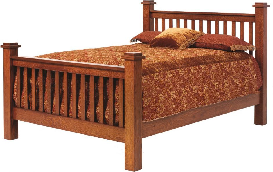 Style Frames Bed Wood And Headboards Mission