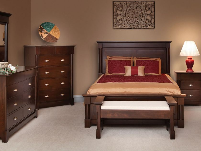Rochester Bedroom Furniture Set Countryside Amish Furniture