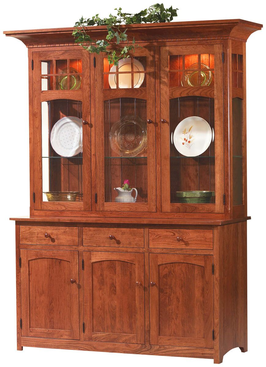 Sonoma 3 Door Mission China Cabinet Countryside Amish