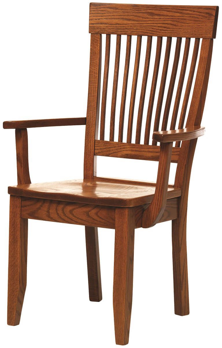 Bree Amish Wooden Dining Chair Countryside Amish Furniture