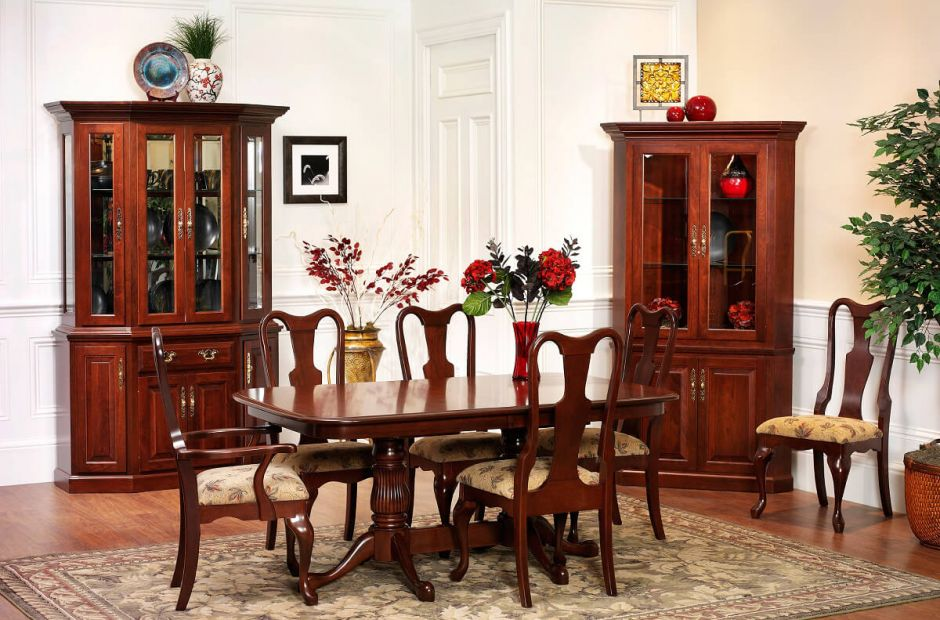 Evendale Court Cherry Dining Set Countryside Amish Furniture