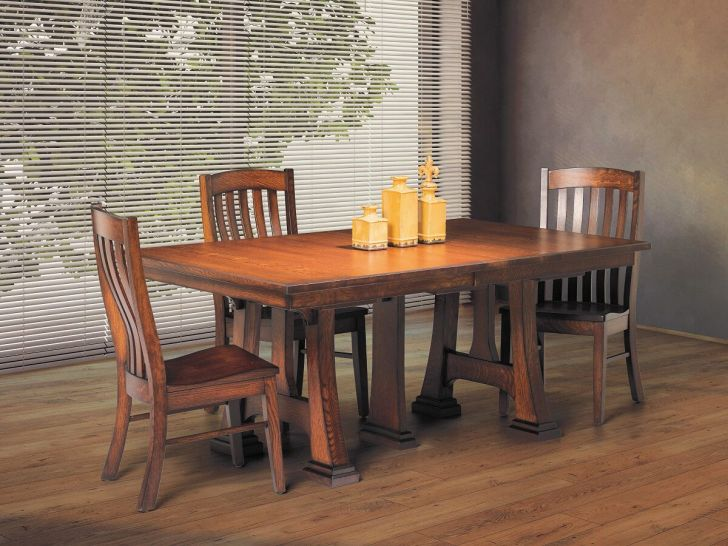 Large Amish Made Dining Tables Countryside Furniture