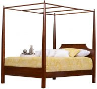 solid wood four poster beds sets