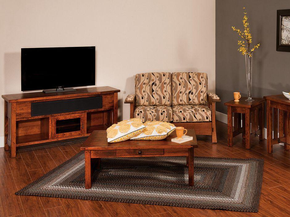 Tucson Handmade Living Room Set Countryside Amish Furniture