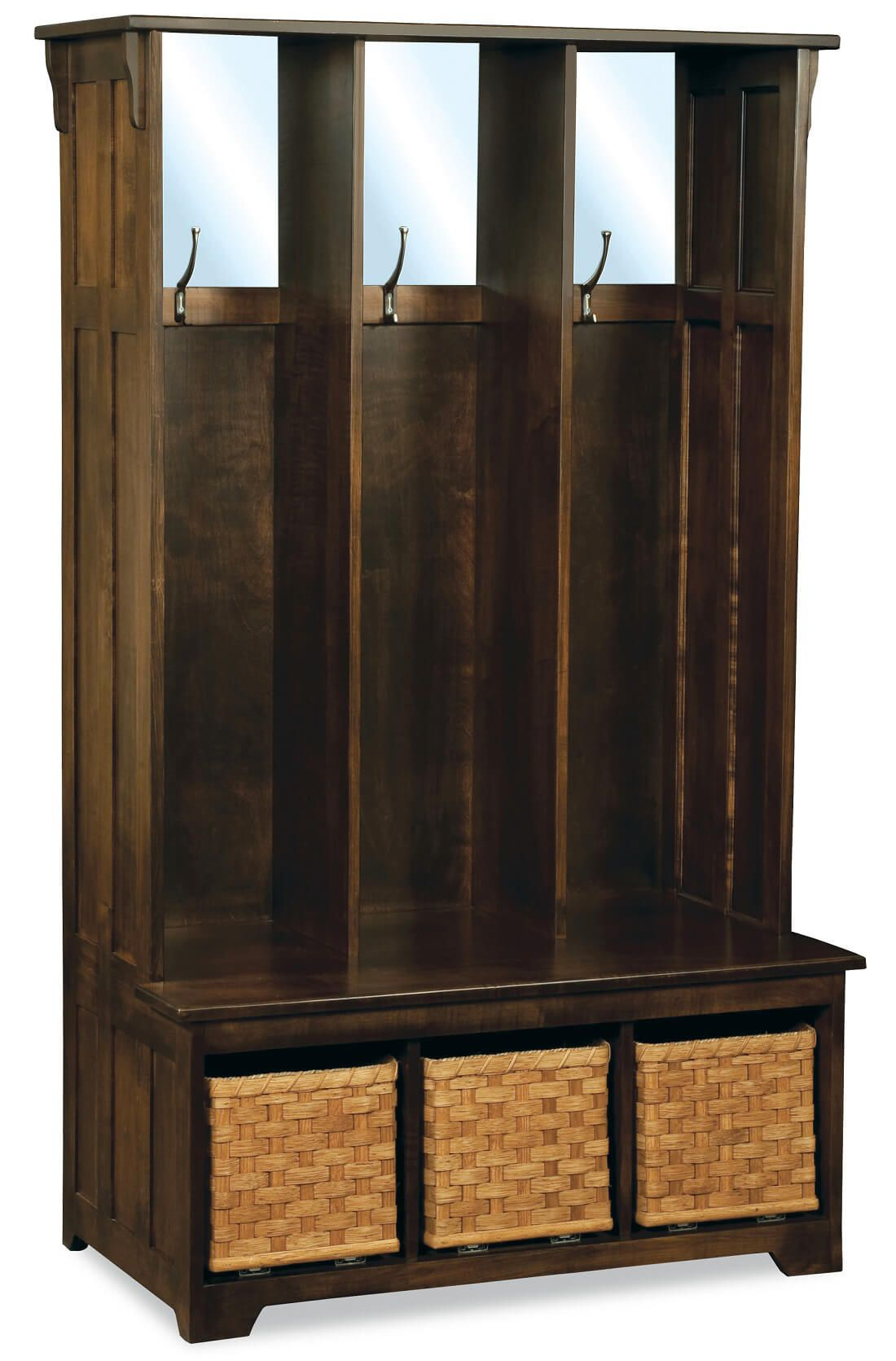 Marianna Entry Seat With Storage Countryside Amish Furniture