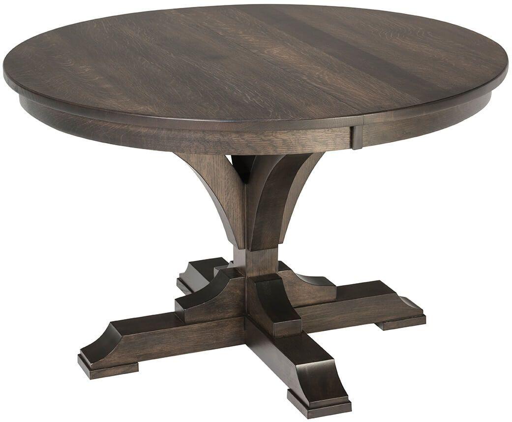 Brickhouse Round Pedestal Table