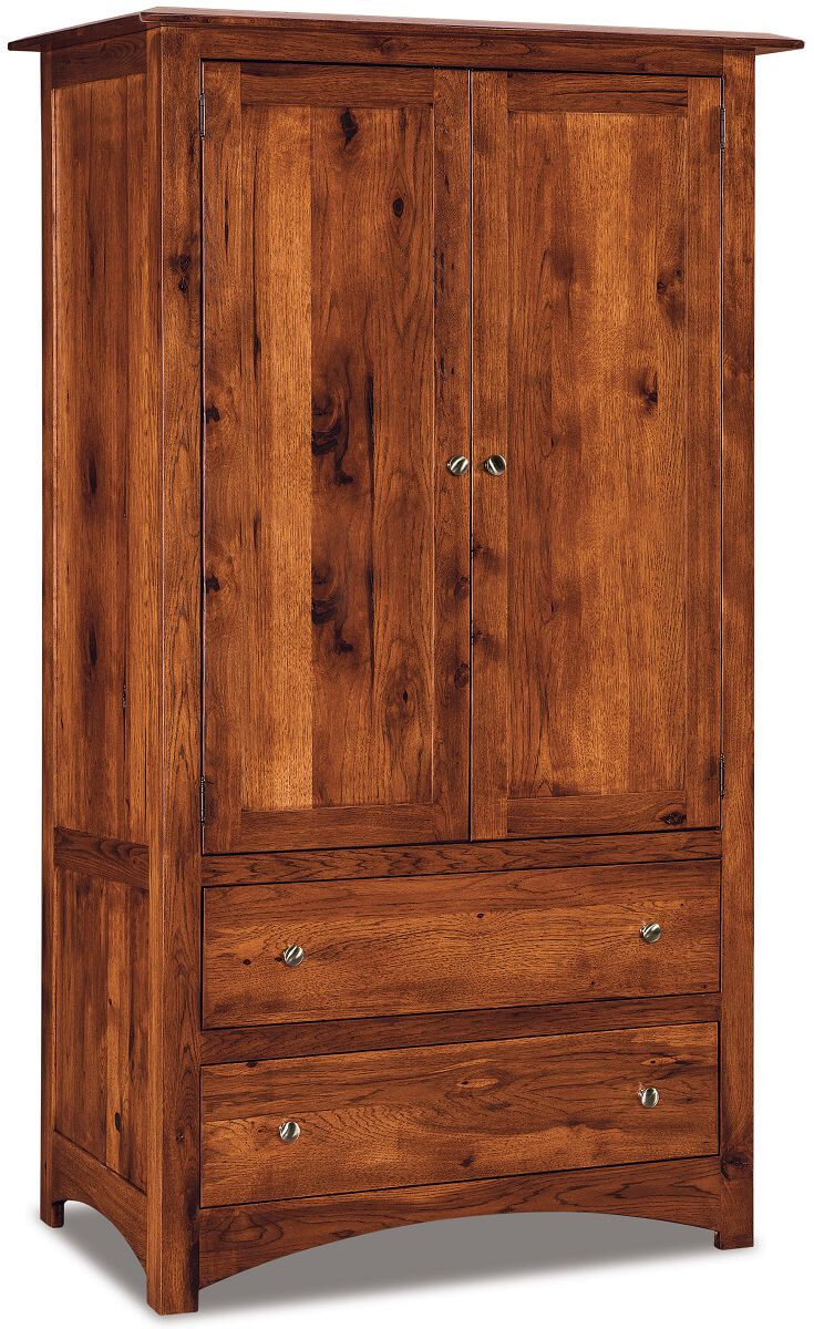 Norway Closet Armoire Countryside Amish Furniture