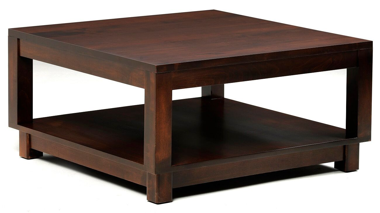 Cartier Modern Square Coffee Table Countryside Amish
