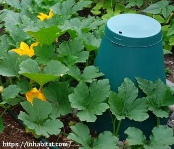 Подземный компостер для пищевых отходов Green Cone